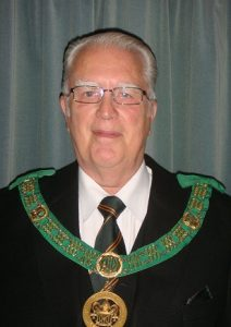 RW Bro David M Cordell<br /> District Grand Prefect